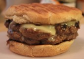 Perfect Blue Cheese-Stuffed Burgers