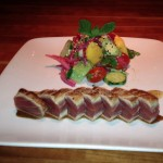 Seared Ahi Tuna Salad at Hillstone (photo by MJ Byers)
