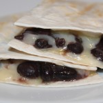 Homemade Black Bean Quesadillas (photo by MJ Byers)