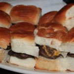 Sliders at Killarney Rose (photo by MJ Byers)