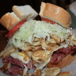 Corned beef & cheese at Primanti Bros. (photo by Tony Byers)