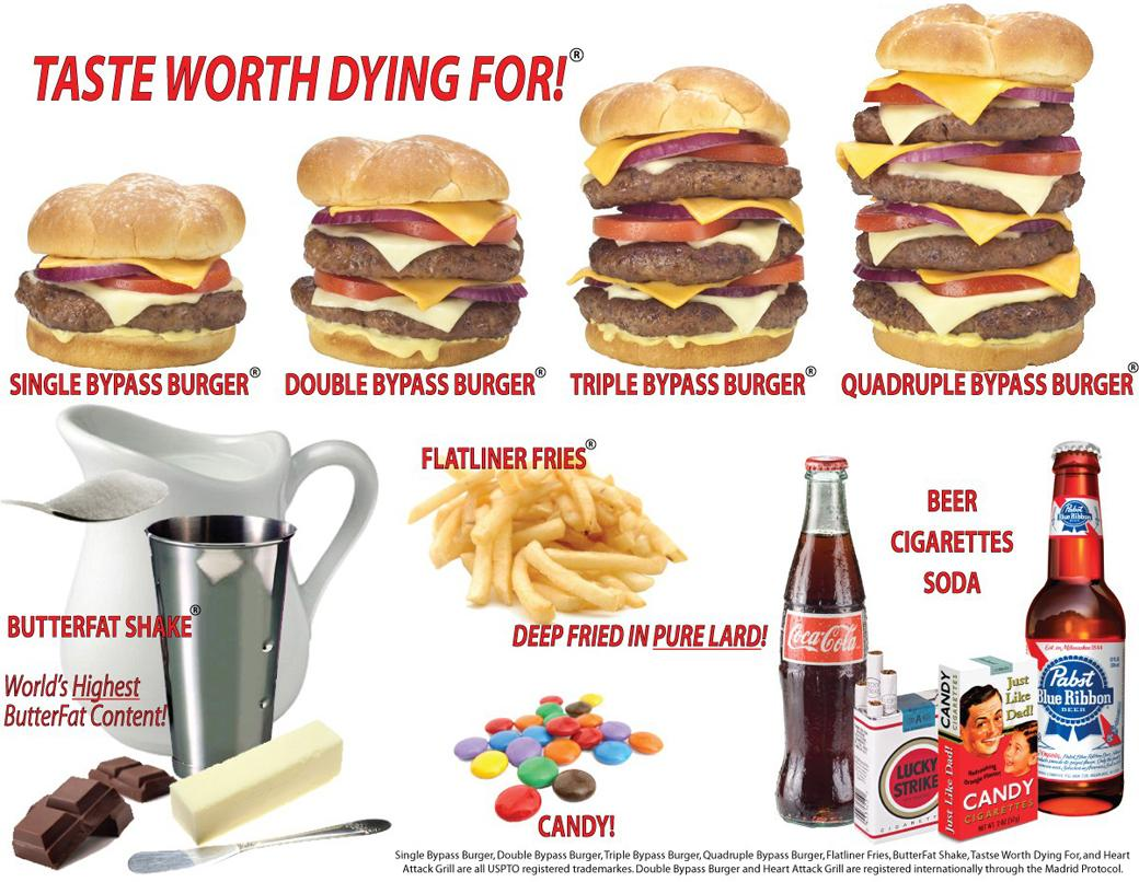 Heart Attack Grill Las Vegas At Its Most Vegas Y